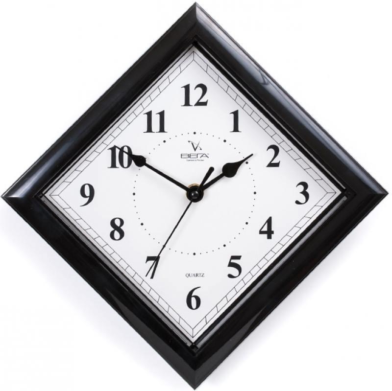 Часы настенные Вега П 3-6-51 чёрный