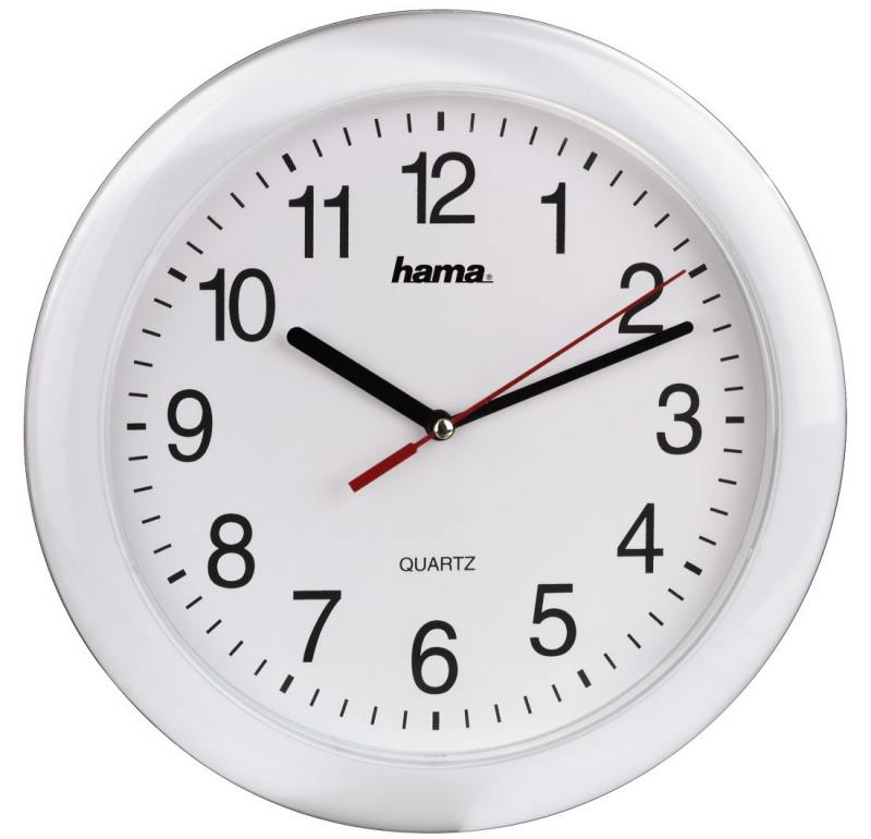 Часы настенные HAMA 00113921 белый