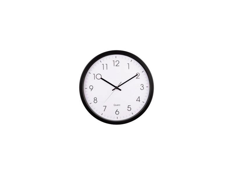 Часы Hama PG-350 H-113976 настенные аналоговые пластик черно-белый настенные часы hama bathroom h 113914 аналоговые серебристый