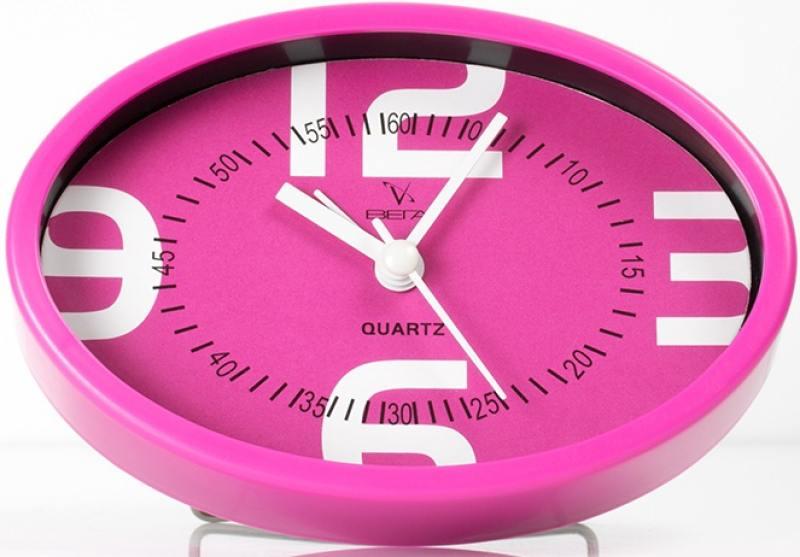 Будильник Вега Пробуждение гарантировано розовый 7706
