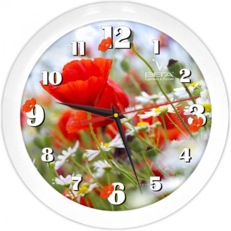Часы Вега П1-7/87 Маки