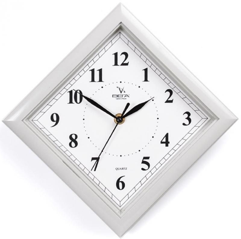 Часы настенные Вега П 3-5-51 белый