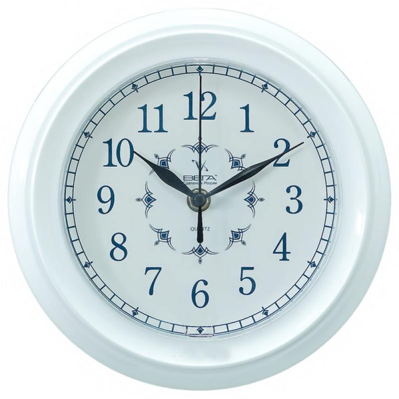 Часы настенные Вега П 6-7-12 белый