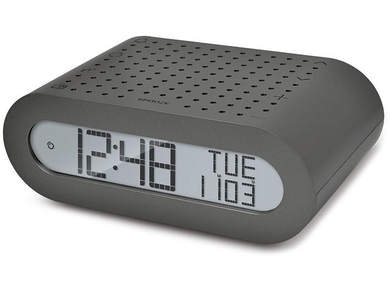 Настольные часы Oregon Scientific RRM116-g с FM-радио, серые