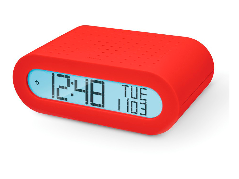 Настольные часы Oregon Scientific RRM116-r с FM-радио, красные