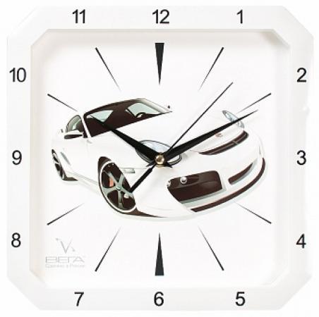 Часы настенные Вега П4-7610/7-48 часы вега п4 14 7 86 новогодние подарки разноцветный