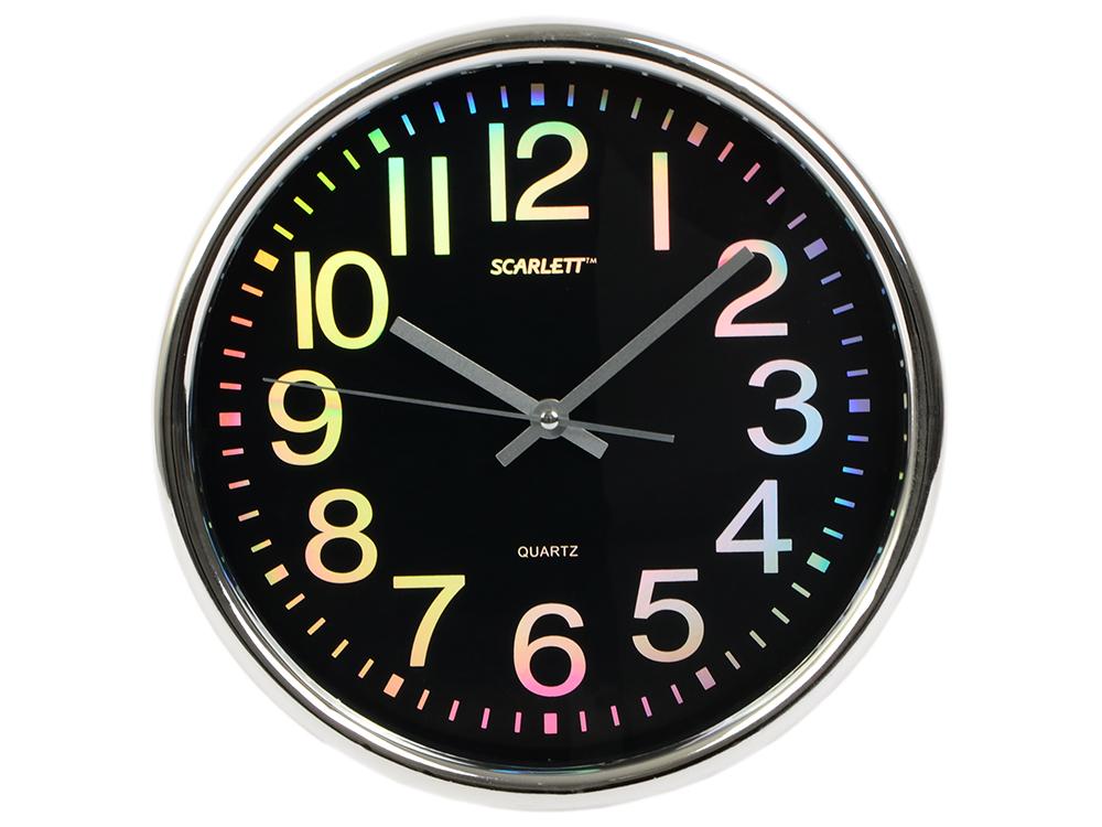 Настенные часы Scarlett SC - WC1010O часы настенные scarlett sc 55fv