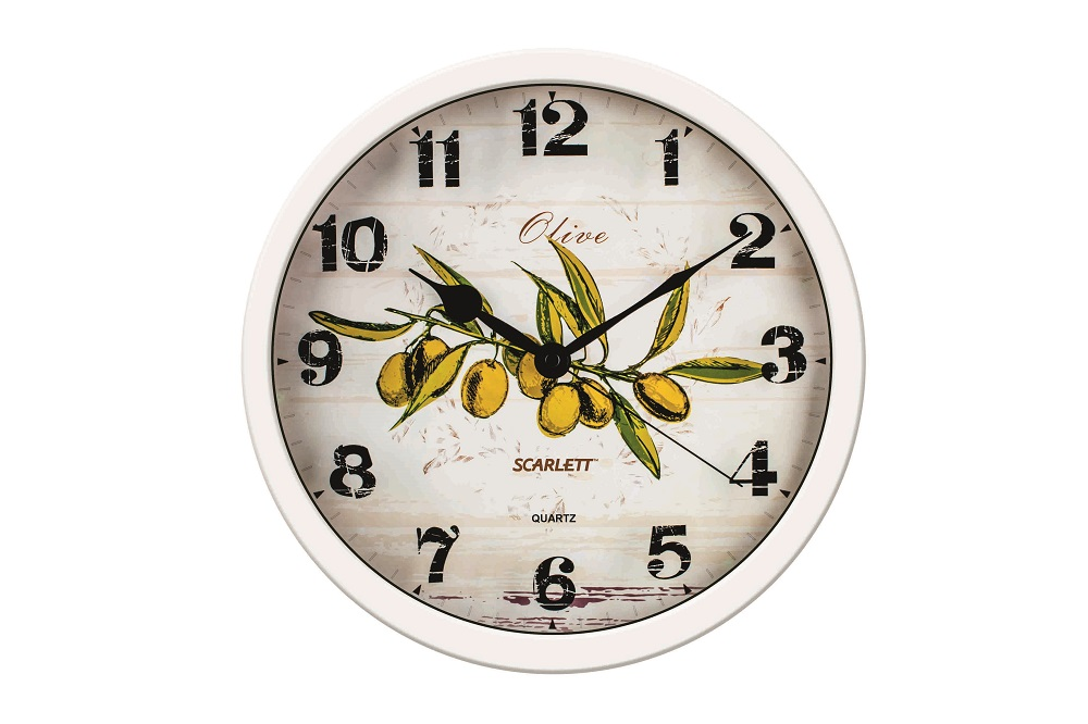 Настенные часы Scarlett SC - WC1005K радиатор scarlett sc 21 1005 s