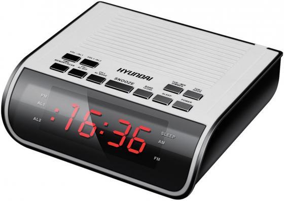 Радиобудильник Hyundai H-RCL100 белый hyundai белый