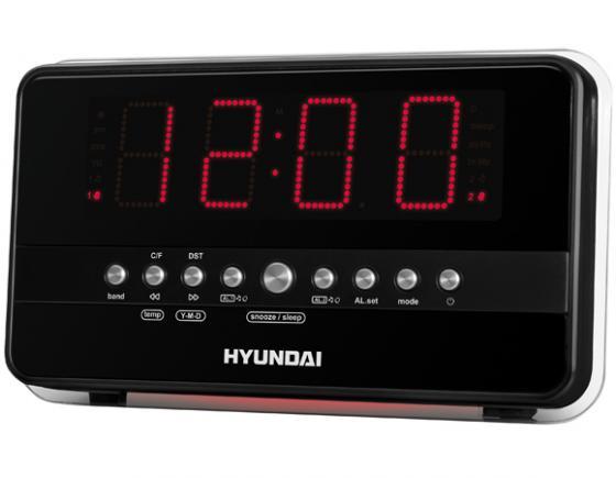 Радиобудильник Hyundai H-1549 черно-красный сплит система hyundai h ar21 07h