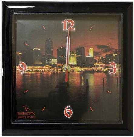 Часы настенные Вега П3-6-85 разноцветный рисунок
