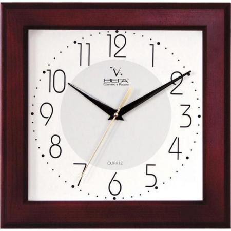 Часы настенные Вега Д4КД/7-30 темное дерево