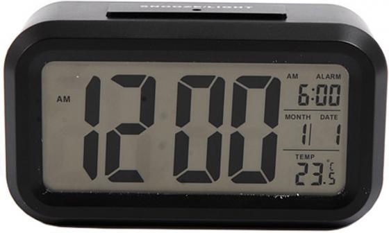 Фото - Часы настольные электронные Сигнал EC-137B черные часы электронные оранжевые