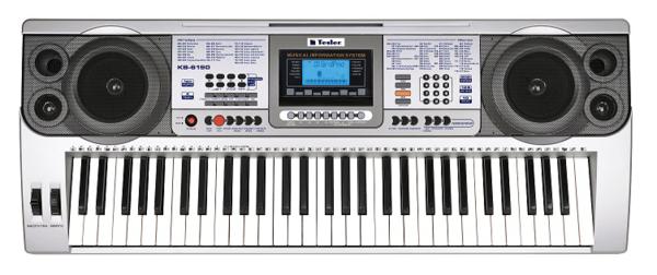 Синтезатор TESLER KB-6190 синтезатор yamaha kb 90 61