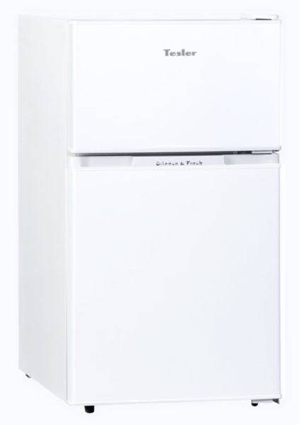 Холодильник TESLER RCT-100 White электрическая плитка tesler pe 10 white pe 10 white