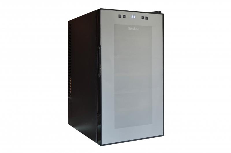 Винный шкаф TESLER WCV-180 tesler wch 080 black винный шкаф