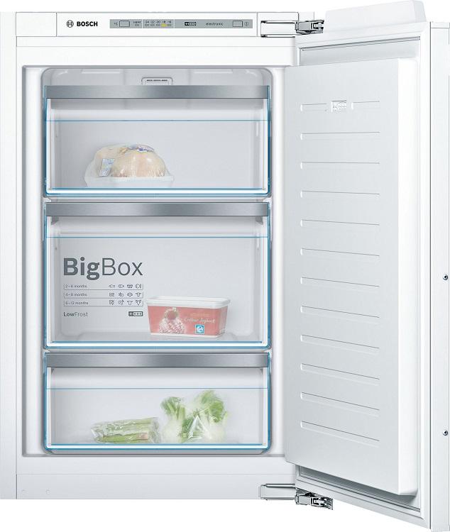 Встраиваемая морозильная камера BOSCH GIV21AF20R морозильная камера bosch gid 14a50