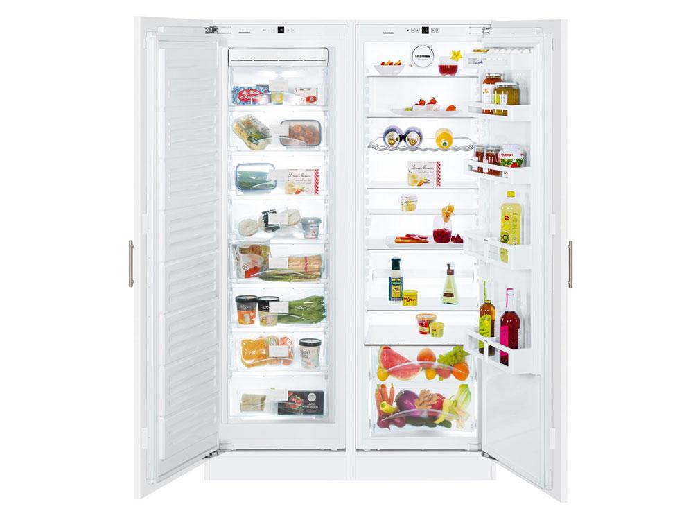 Встраиваемый холодильник Side by Side LIEBHERR SBS 70I2 холодильник side by side siemens iq700 ka92nlb35r
