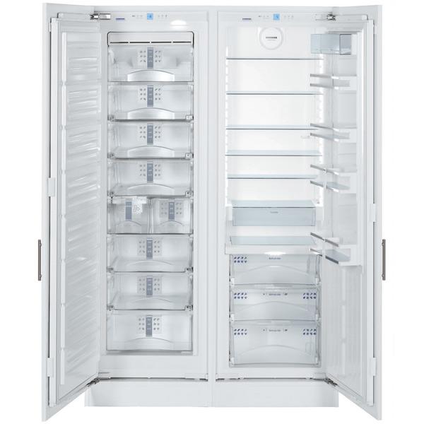 Встраиваемый холодильник Side by Side LIEBHERR SBS 70I4 холодильник side by side liebherr sbs 7212 23