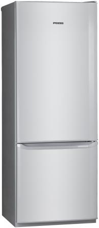 Холодильник Pozis RK-102 C серебристый холодильник pozis rk fnf 170 белый с сереб накл на ручках