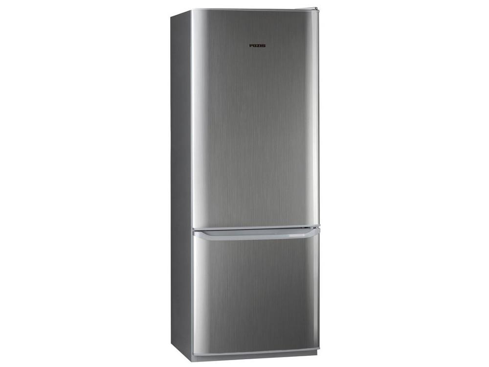 Холодильник Pozis RK-102A серебристый холодильник pozis rk fnf 170 белый с сереб накл на ручках