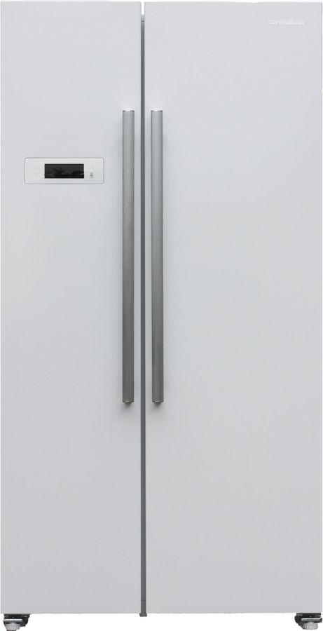 Холодильник Shivaki SBS-530DNFW холодильник shivaki bmr 2013dnfw двухкамерный белый