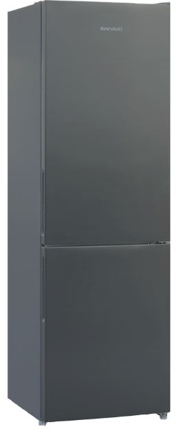 BMR-1851NFX холодильник shivaki bmr 2013dnfw двухкамерный белый