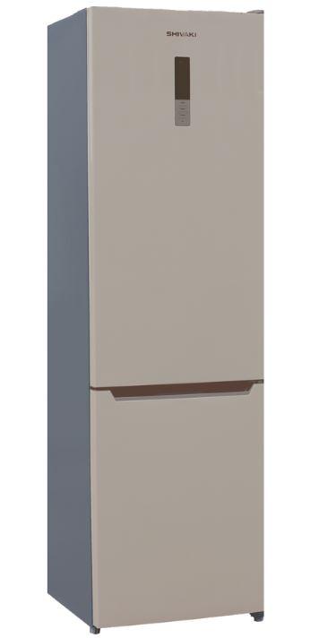 BMR-2017DNFBE холодильник shivaki bmr 2013dnfw двухкамерный белый