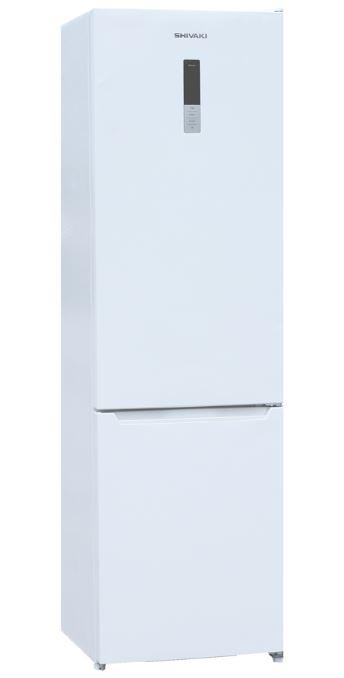 BMR-2017DNFW холодильник shivaki bmr 2013dnfw двухкамерный белый