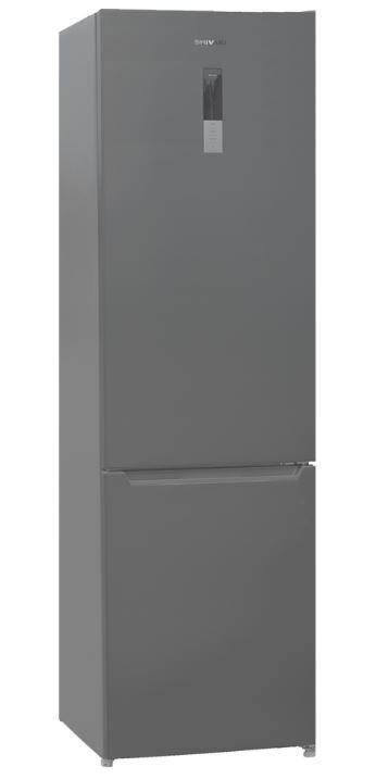 BMR-2017DNFX холодильник shivaki bmr 2013dnfw двухкамерный белый