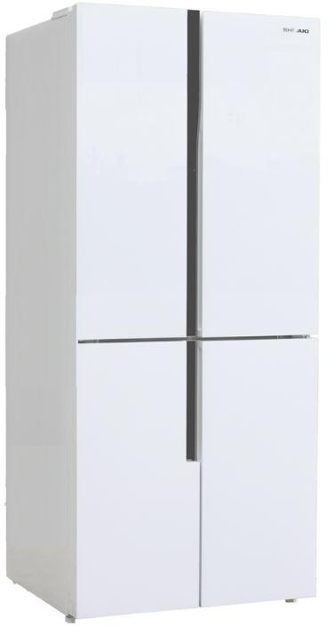 SBS-443DNFGW холодильник shivaki sbs 550dnfbgl