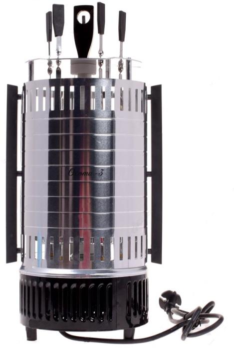 Шашлычница электрическая Великие реки Охота-3 (дополнительная стеклянная трубка)