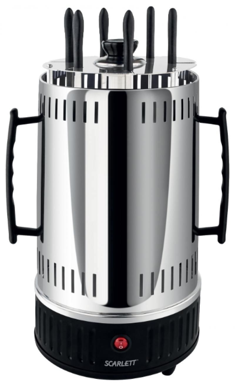 Электрошашлычница Scarlett SC-KG22601 серебристый от OLDI