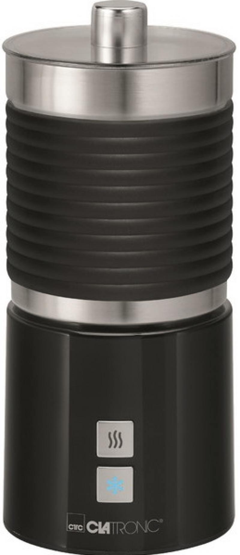 Пеновзбиватель Clatronic MS 3654 soft touch schwarz вспениватель молока clatronic ms 3654