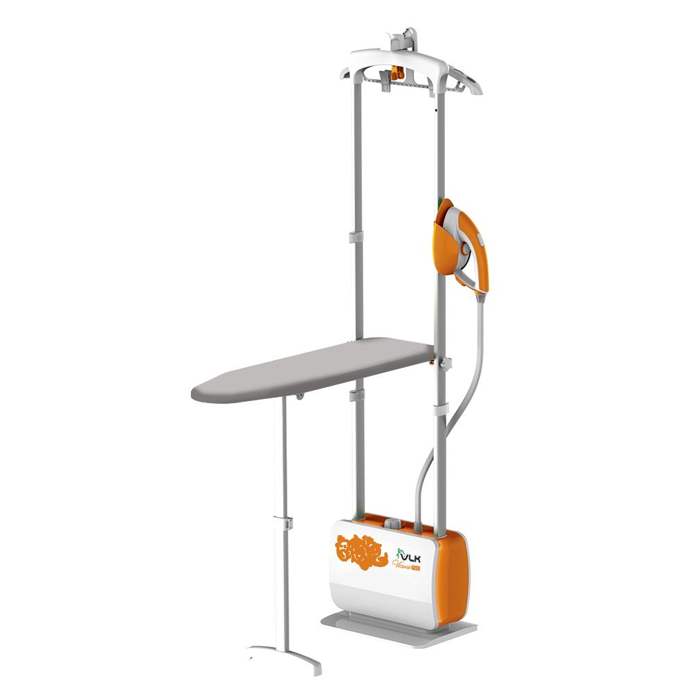 Гладильная система VLK Rimmini 7500, черно-оранжевый оверлок kromax vlk napoli 2900