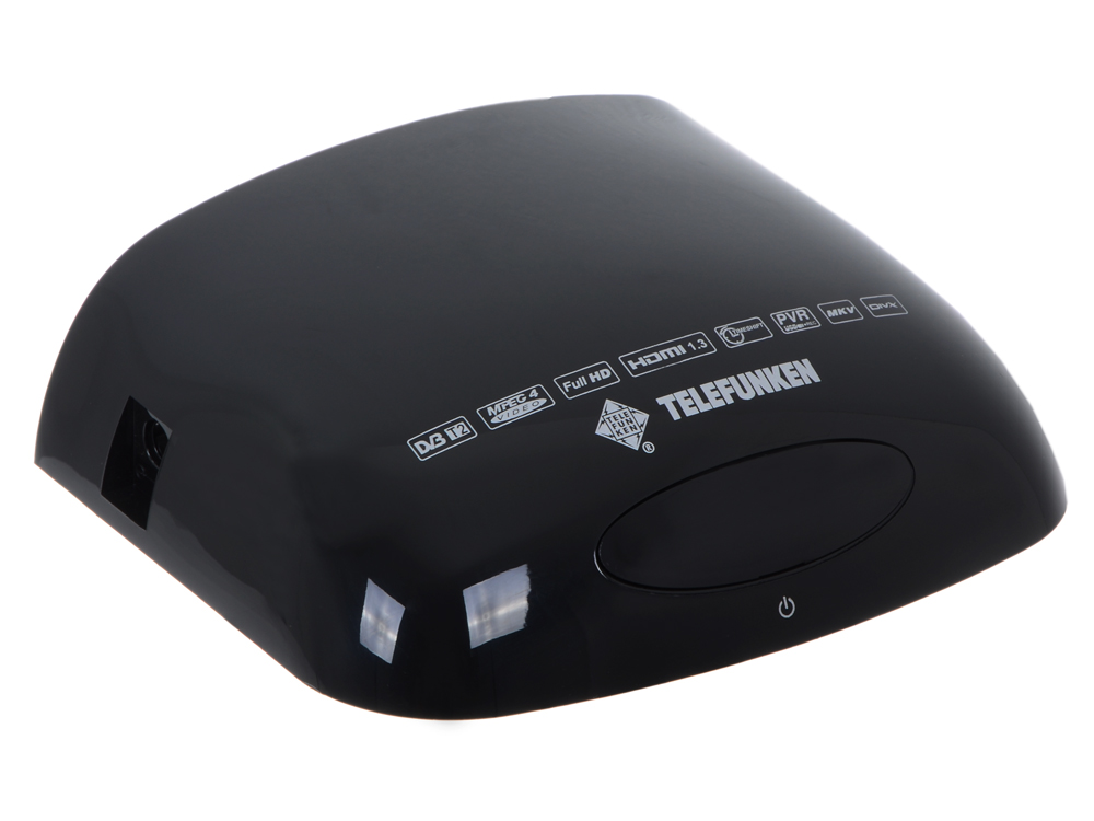 Цифровой телевизионный DVB-T2 ресивер TELEFUNKEN TF-DVBT204 (черный)