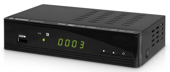 Цифровой телевизионный DVB-T2 ресивер TELEFUNKEN TF-DVBT206 (черный)
