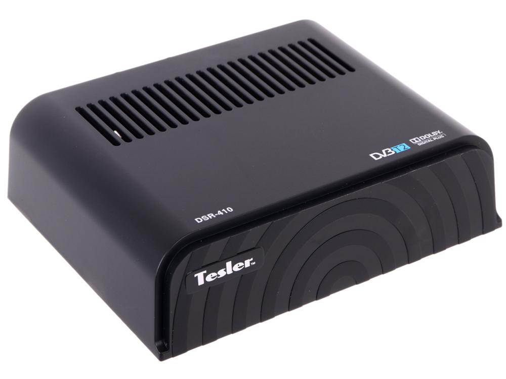 Цифровой телевизионный DVB-T2 ресивер TESLER DSR-410