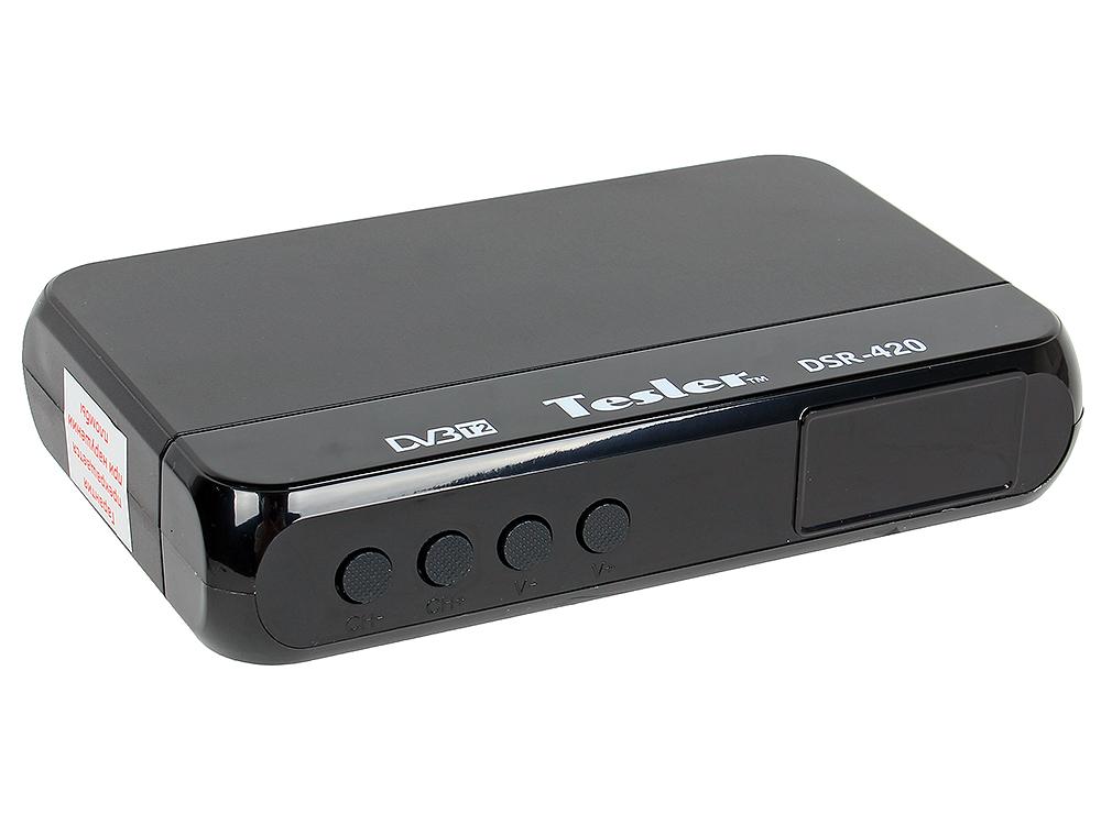 Цифровой телевизионный DVB-T2 ресивер TESLER DSR-420