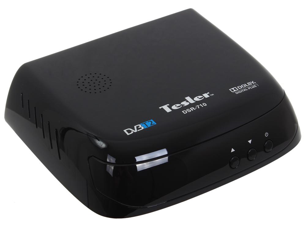Цифровой телевизионный DVB-T2 ресивер TESLER DSR-710
