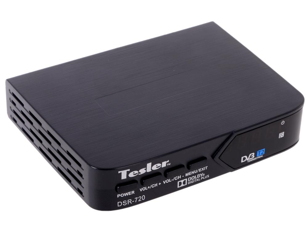 Цифровой телевизионный DVB-T2 ресивер TESLER DSR-720