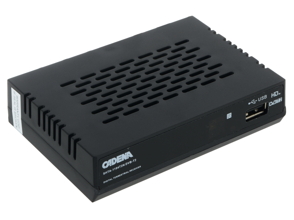 Цифровой телевизионный DVB-T2 ресивер CADENA 1104T2N