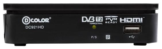 Цифровой телевизионный DVB-T2 ресивер D-Color DC921HD цена и фото