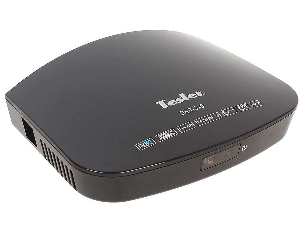Цифровой телевизионный DVB-T2 ресивер TESLER DSR-340