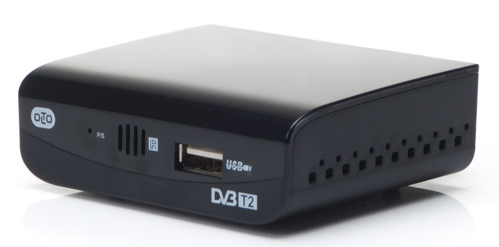 Цифровой телевизионный DVB-T2 ресивер OLTO HDT2-1001
