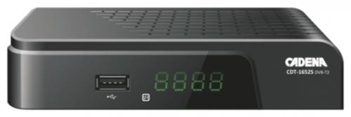 Цифровой телевизионный DVB-T2 ресивер CADENA CDT-1652S