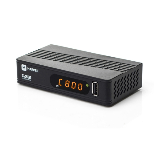 Цифровой телевизионный DVB-T2 ресивер HARPER HDT2-1514 harper hdt2 1005 dvb t2