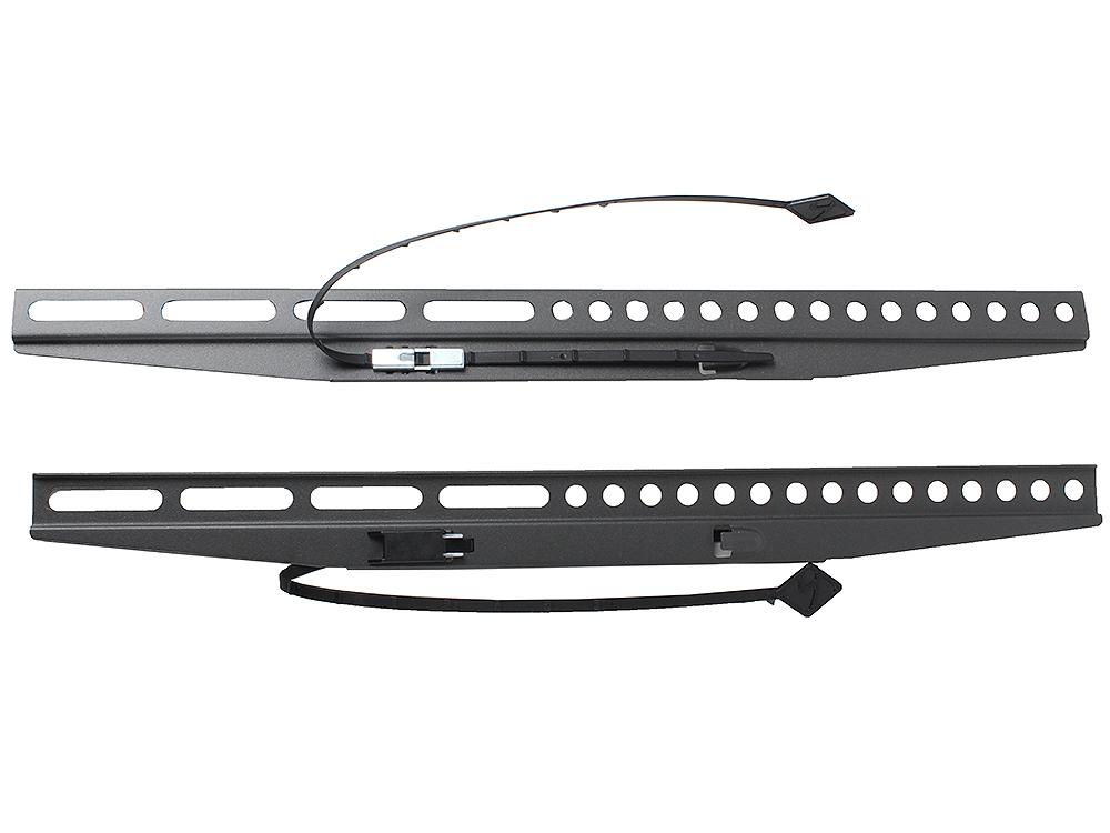 Кронштейн Kromax FLAT-1, LCD/LED и плазма тв 32-65, настенный, 0 ст.свободы, VESA 600x400 мм, от стены 13 мм, max 40 кг, GREY kromax lcd 101 black настенный кронштейн для тв