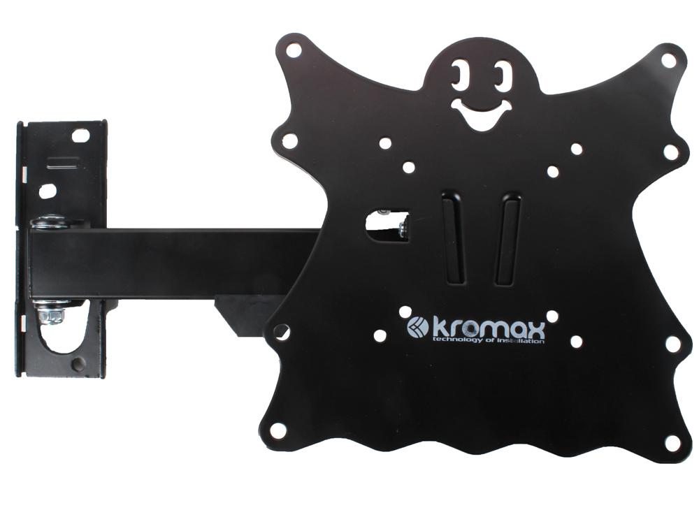 Кронштейн Kromax CASPER-203 Черный kromax casper 204w для 15 42 белый