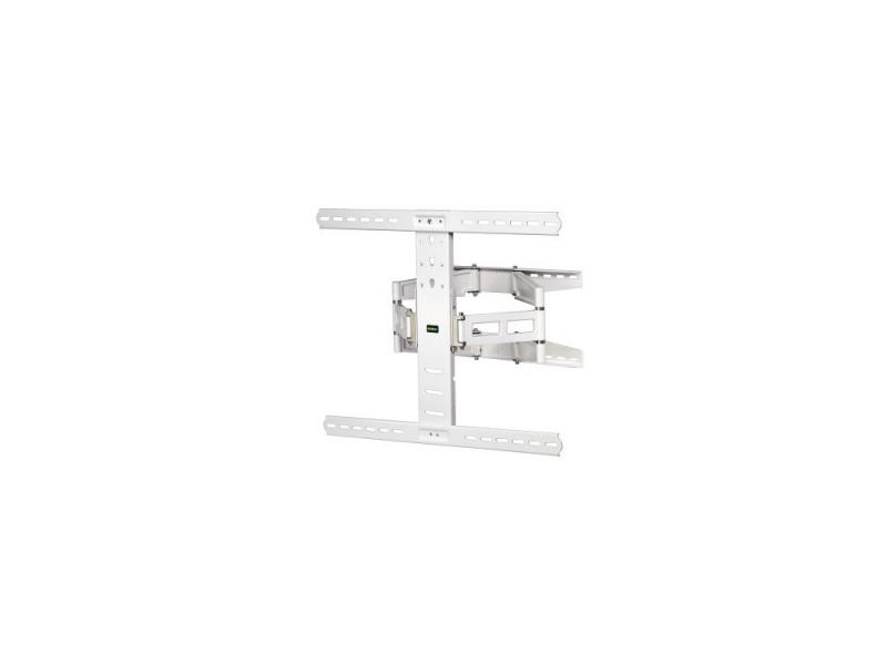 Кронштейн HAMA H-108759 XL белый для ЖК ТВ от 37 до 70 настенный наклон 12° поворот 180° VESA 700x кронштейн hama h 118114 черный для жк настенный наклон
